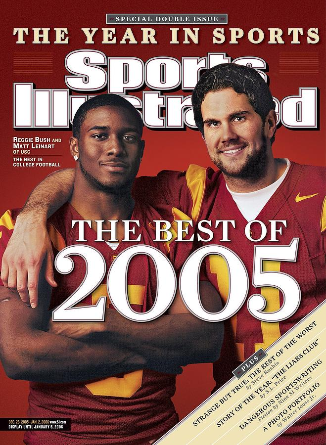 University Of Southern California Qb Matt Leinart And Sports Illustrated Cover Photograph by Sports Illustrated