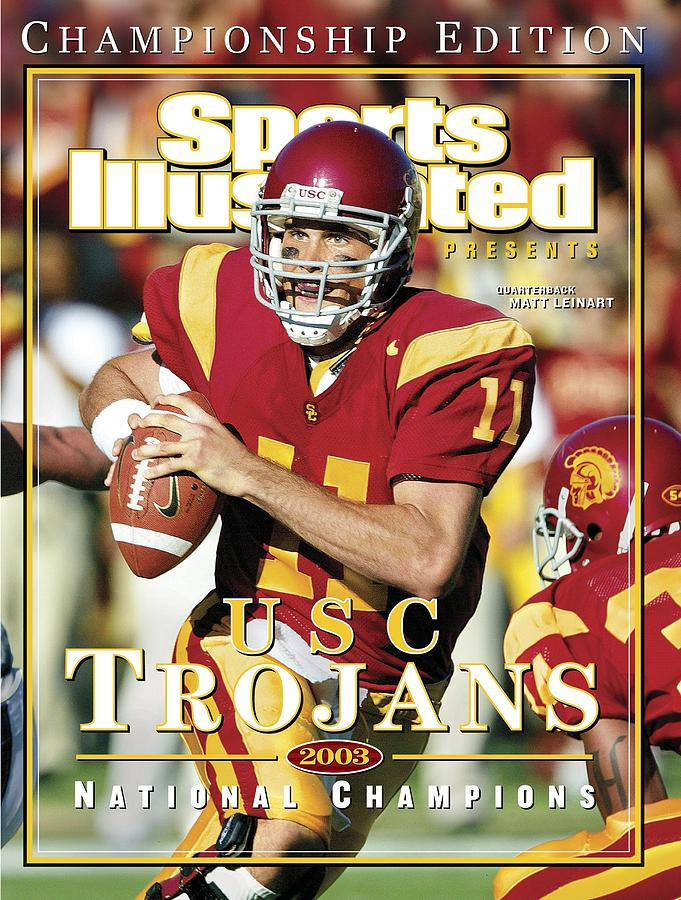 University Of Southern California Qb Matt Leinart Sports Illustrated Cover Photograph by Sports Illustrated