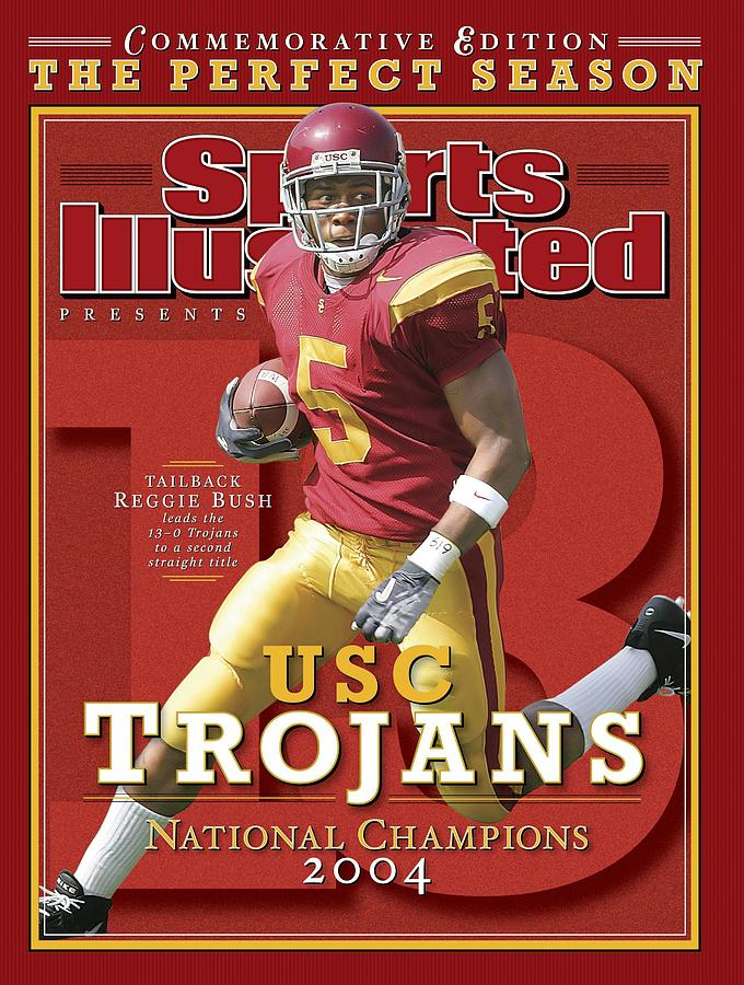 University Of Southern California Reggie Bush, 2004 Sports Illustrated Cover Photograph by Sports Illustrated