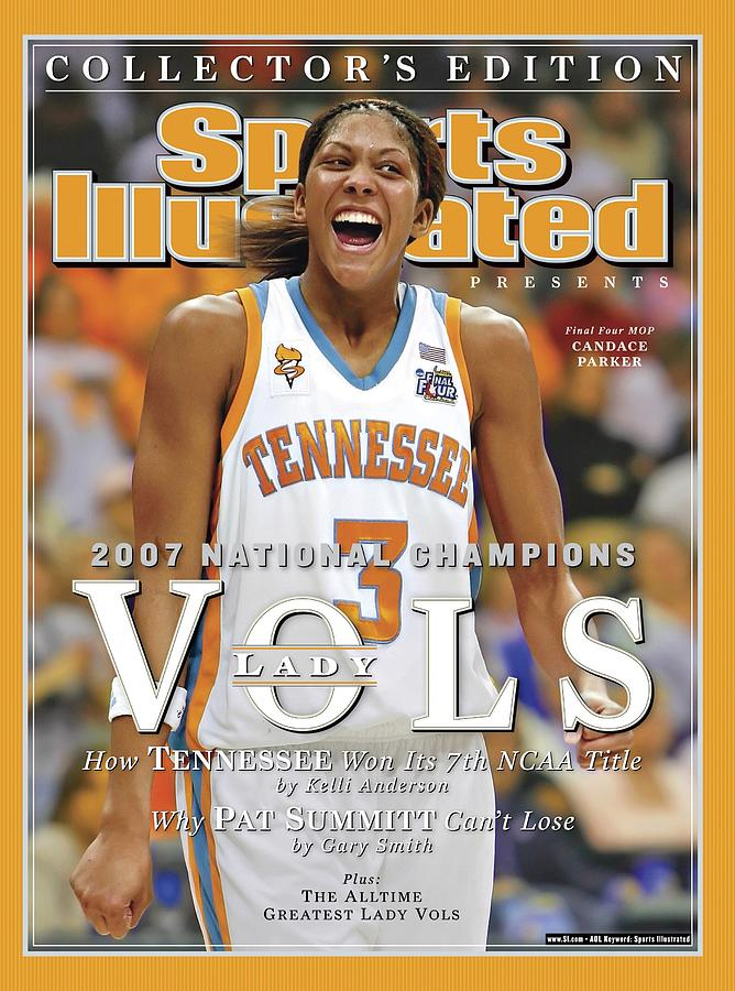 University Of Tennessee Candace Parker, 2007 Ncaa National Sports Illustrated Cover Photograph by Sports Illustrated