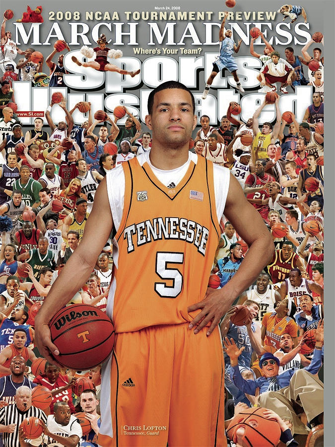 University Of Tennessee Chris Lofton, 2008 Ncaa Tournament Sports Illustrated Cover Photograph by Sports Illustrated