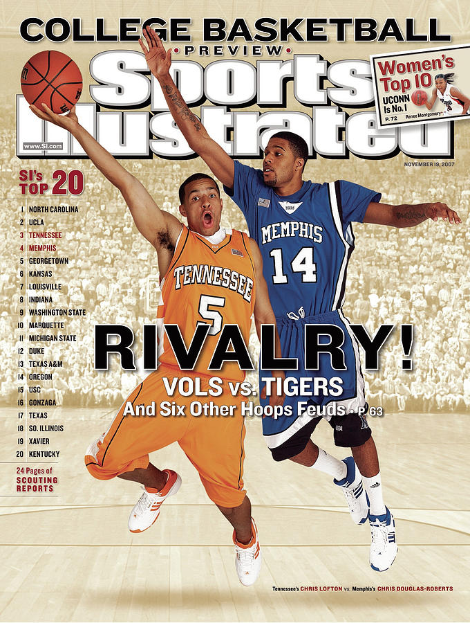 University Of Tennessee Chris Lofton And University Of Sports Illustrated Cover Photograph by Sports Illustrated