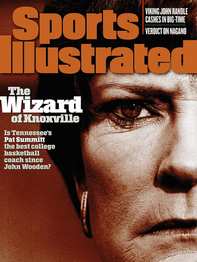 University Of Tennessee Coach Pat Summitt Sports Illustrated Cover Photograph by Sports Illustrated