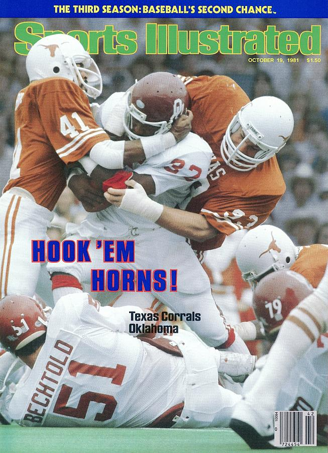 University Of Texas Vance Bedford And Eric Holle Sports Illustrated Cover Photograph by Sports Illustrated