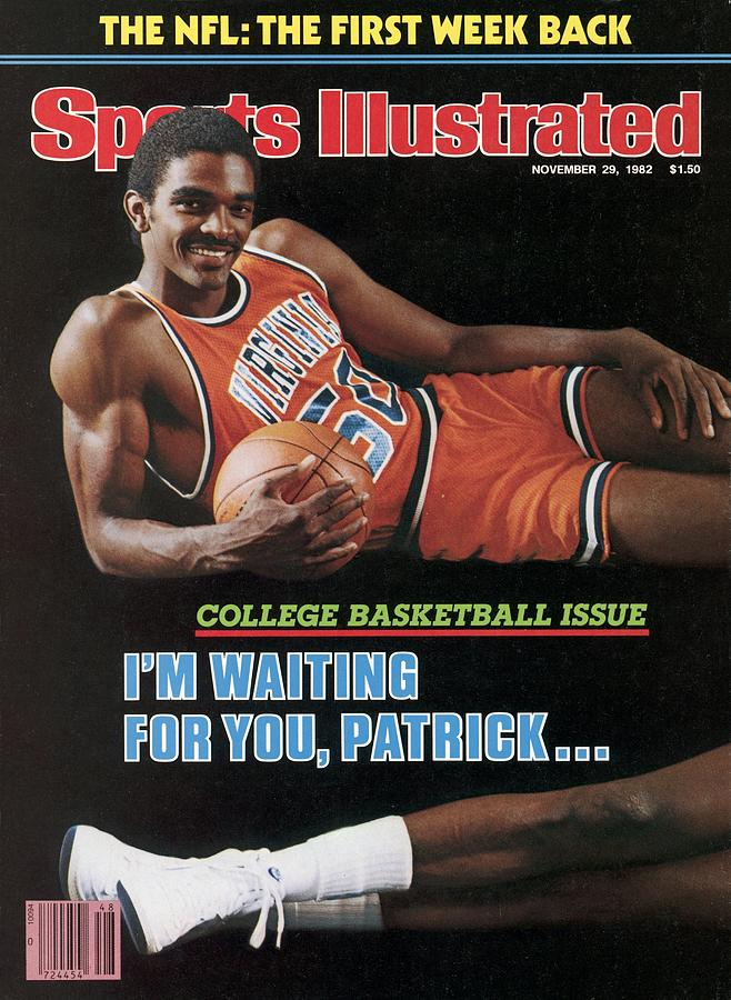 University Of Virginia Ralph Sampson And Georgetown Sports Illustrated Cover Photograph by Sports Illustrated
