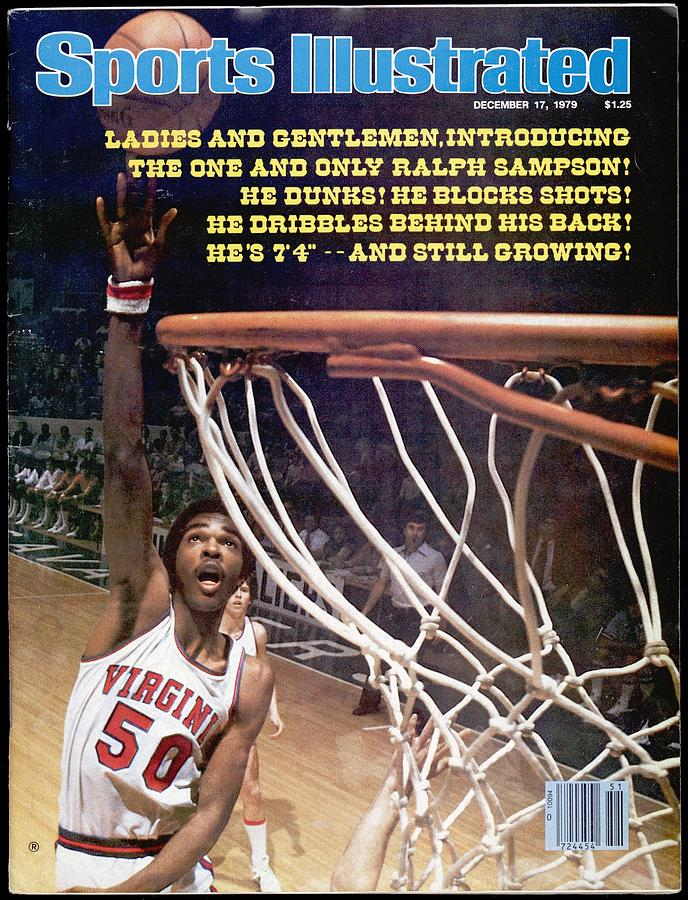 University Of Virginia Ralph Sampson Sports Illustrated Cover Photograph by Sports Illustrated