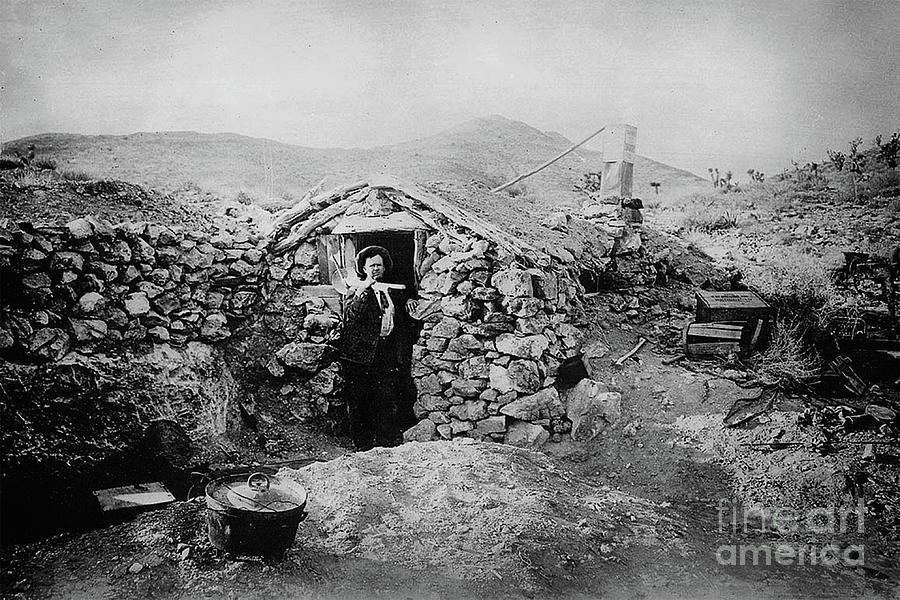 Unknown Miner - Randsburg, CA, circa. 1900 by Doc Braham