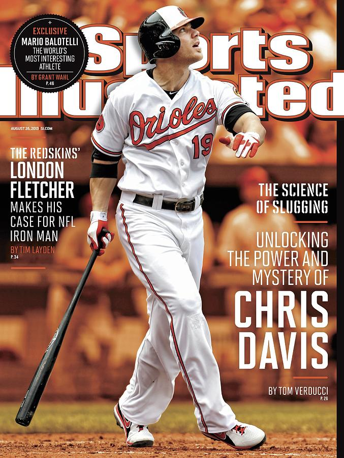 Unlocking The Power And Mystery Of Chris Davis The Science Sports Illustrated Cover Photograph by Sports Illustrated