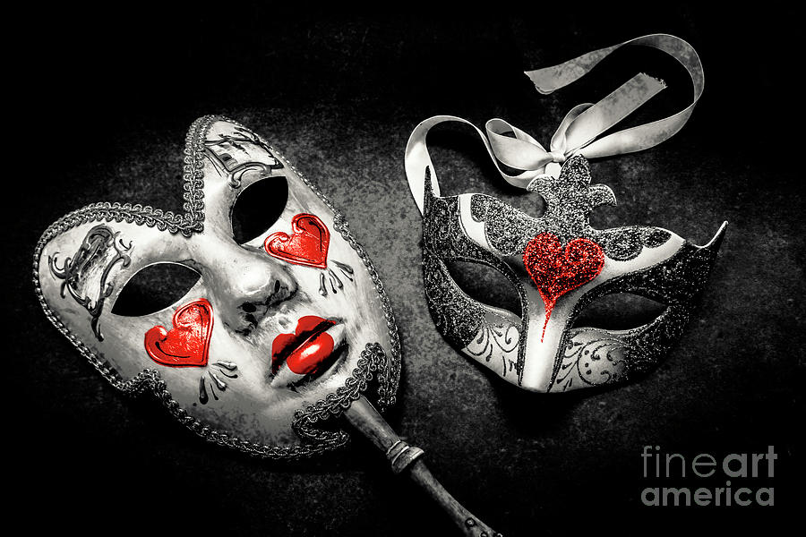 Masquerade Photograph - Unmasking Passions by Jorgo Photography - Wall Art Gallery
