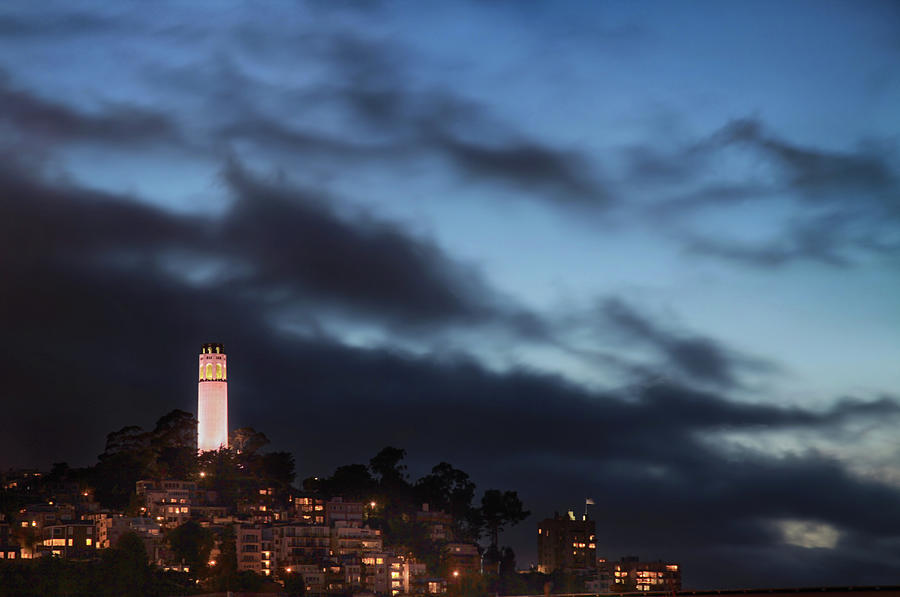 Coit Tower Photograph - Until Its Over by Laurie Search