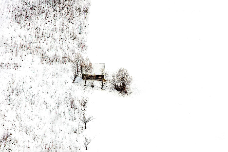 Cabin Photograph - Untitled by Faris