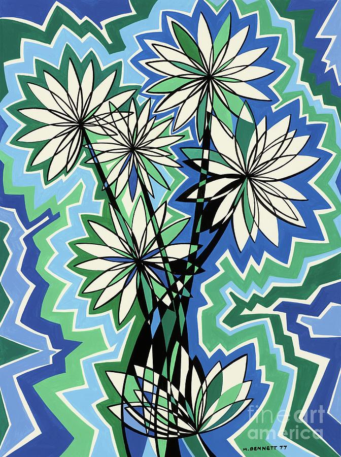 Untitled, Flowers art  by Manuel Bennett