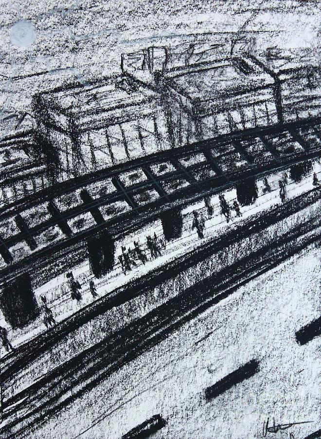 Untitled Sketch I by Odalo Wasikhongo