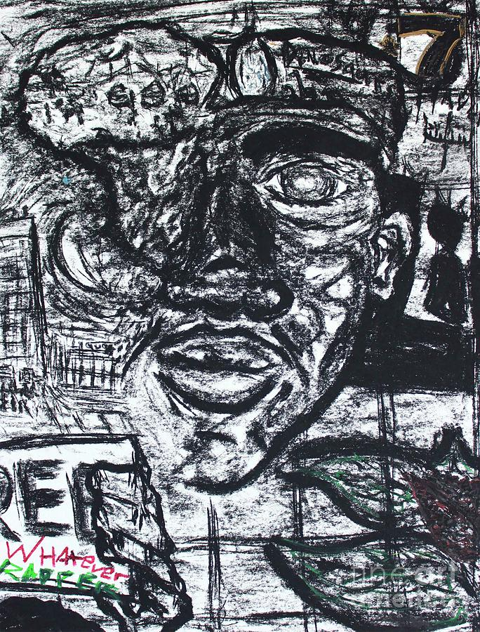 Untitled Sketch II by Odalo Wasikhongo