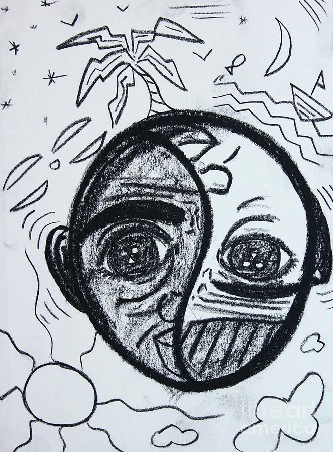 Untitled Sketch III by Odalo Wasikhongo