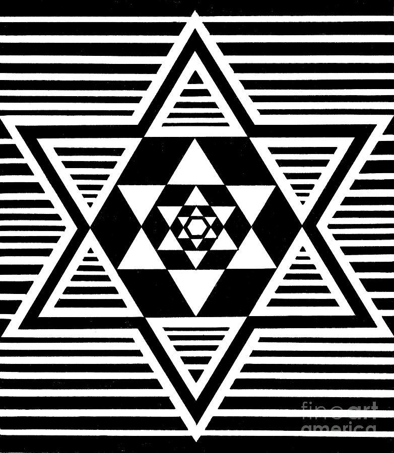 Untitled Symmetrical Star Design by Manuel Bennett