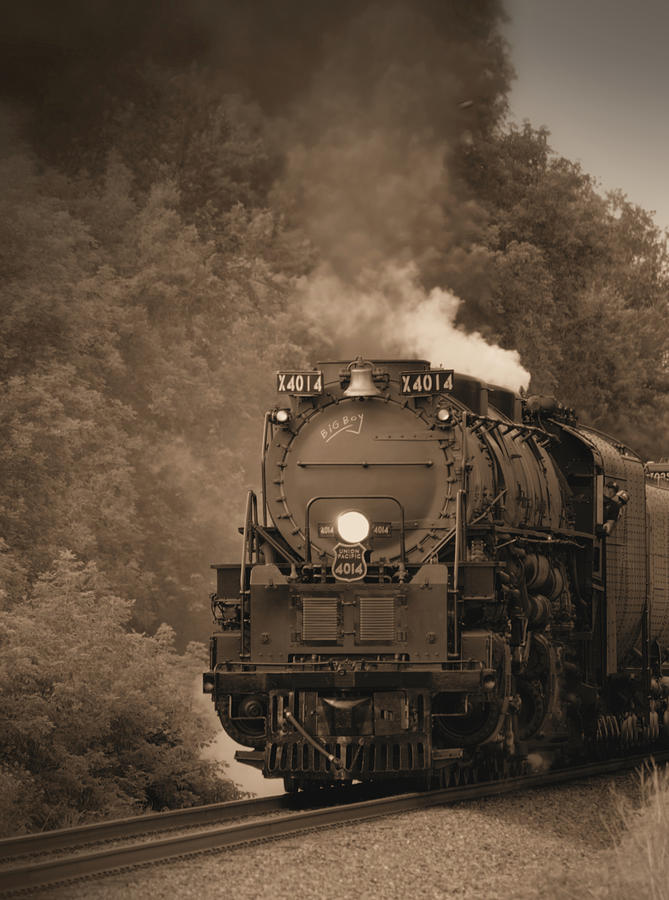 UP 4014 Sepia by Bonfire Photography