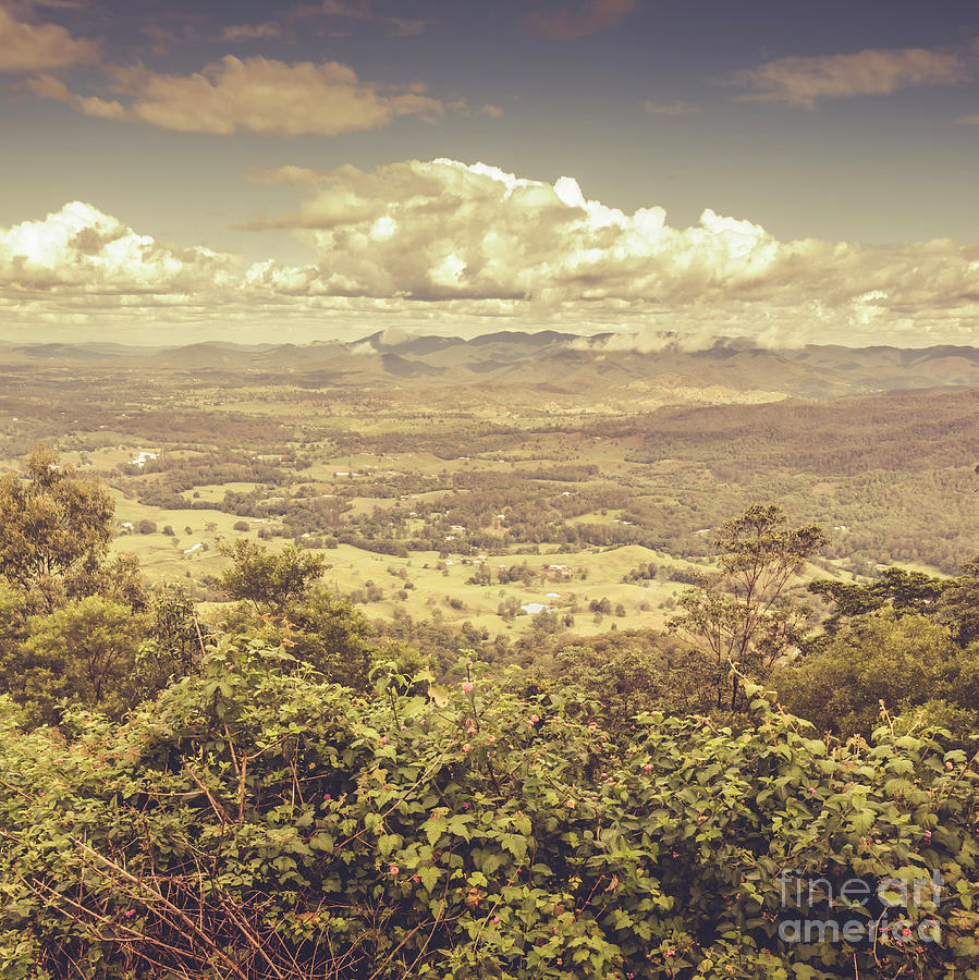 Australia Photograph - Up Above The Land Down Under by Jorgo Photography - Wall Art Gallery