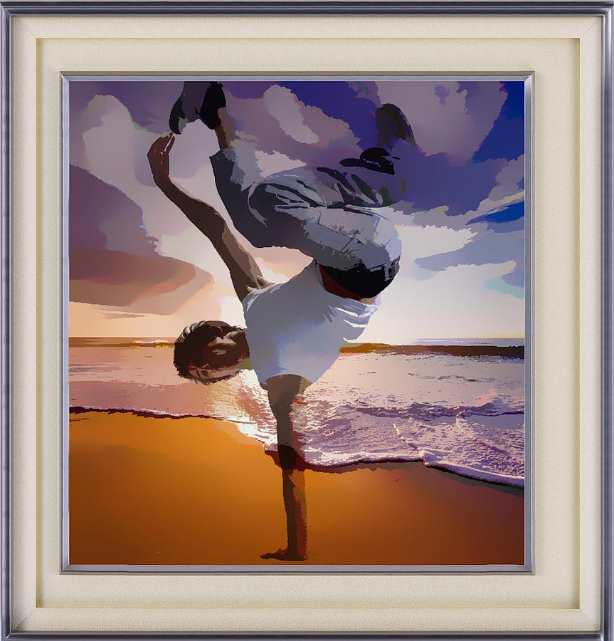 Up In The Air Dancer by Clive Littin