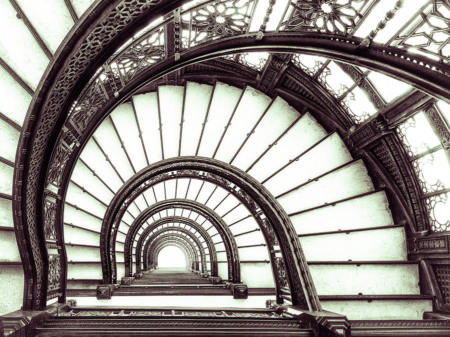 Chicago Photograph - Up To The Past by Christopher Budny