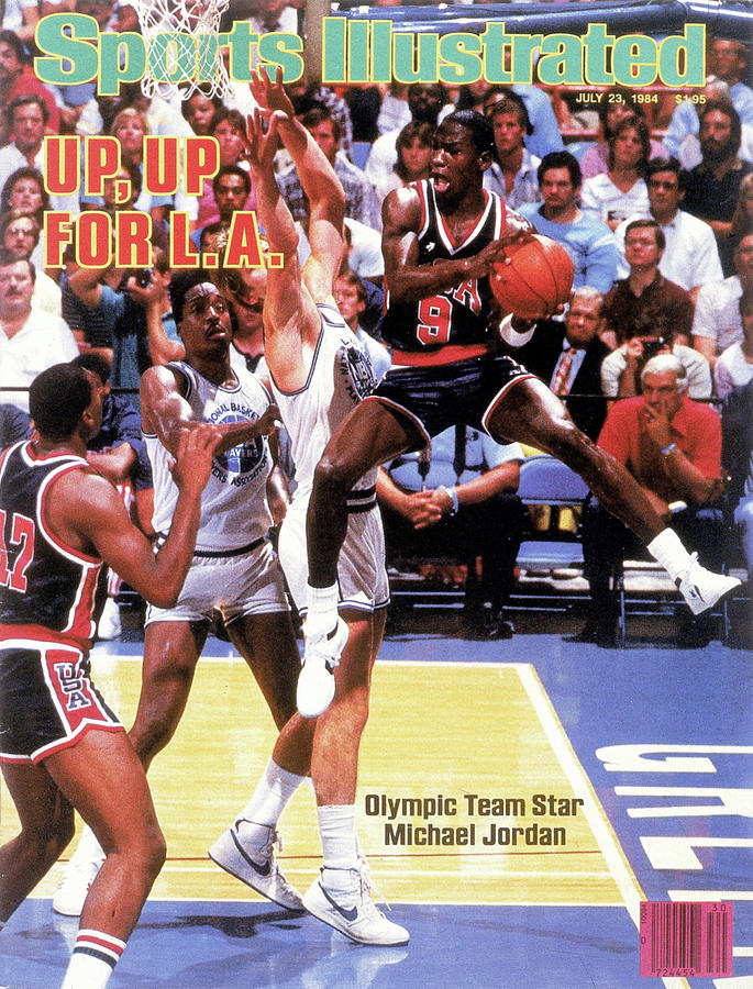 Up, Up For La 1984 Los Angeles Olympic Games Preview Issue Sports Illustrated Cover Photograph by Sports Illustrated