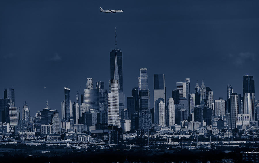 Architecture Photograph - Upon Newyork by Yanny Liu