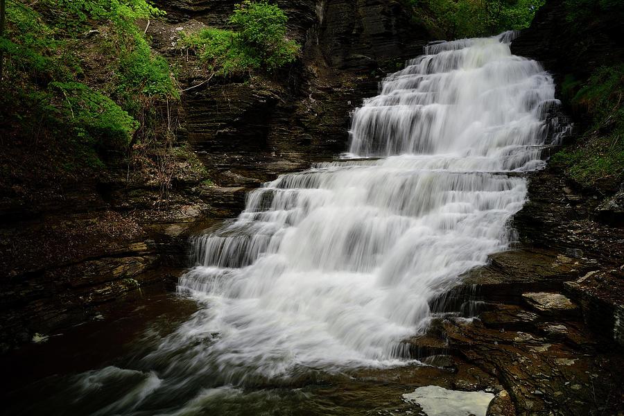 Upper Cascadilla Falls  by Michael Morse