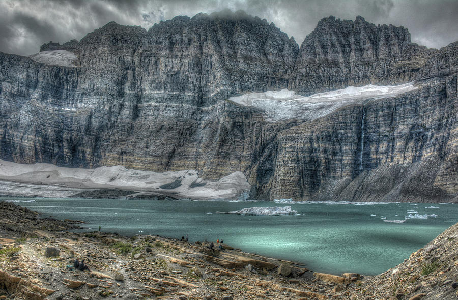 Upper Grinnell Glacier Lake by Michael Kirk