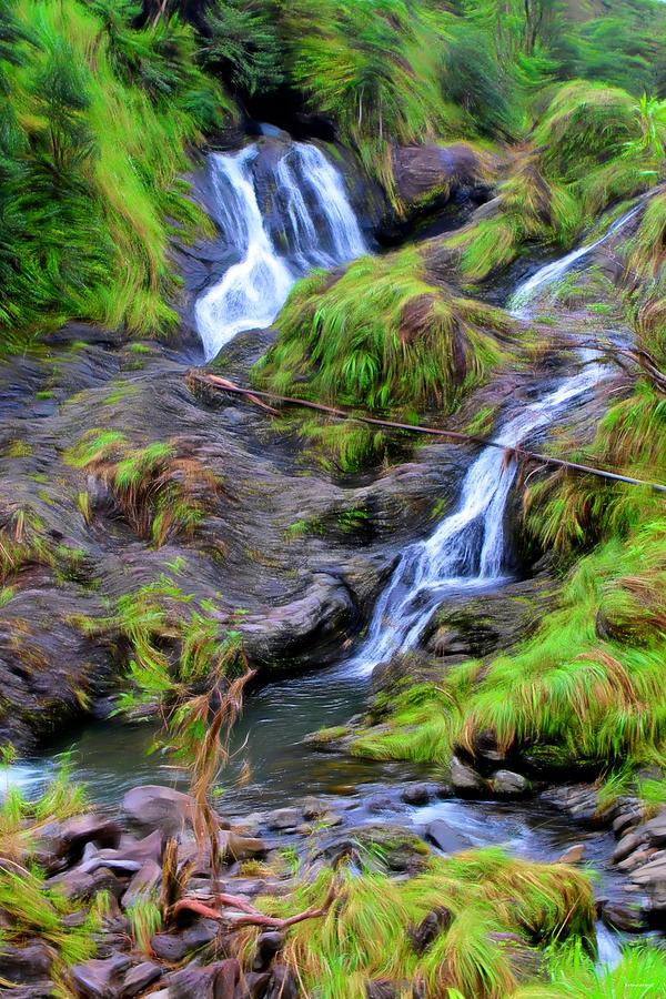 Upper Hanawi Falls by Tom Prendergast