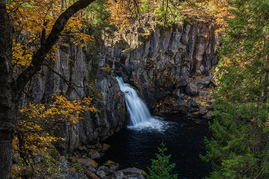Upper McCloud Falls by Don Hoekwater Photography