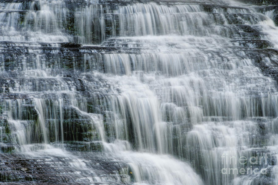 Upper Piney Falls 4 by Phil Perkins