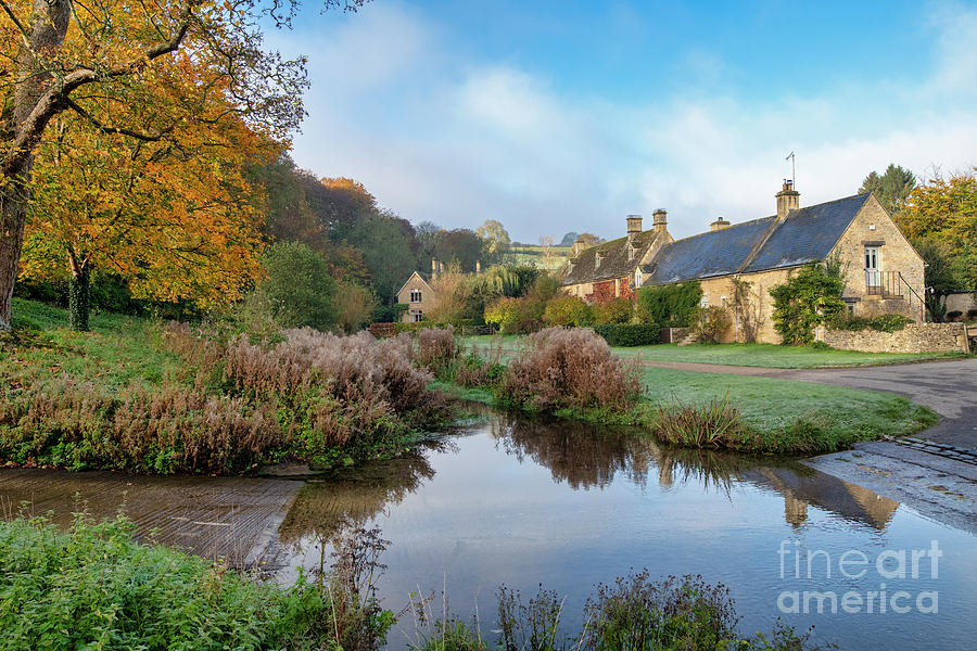 Upper Slaughter Autumn by Tim Gainey