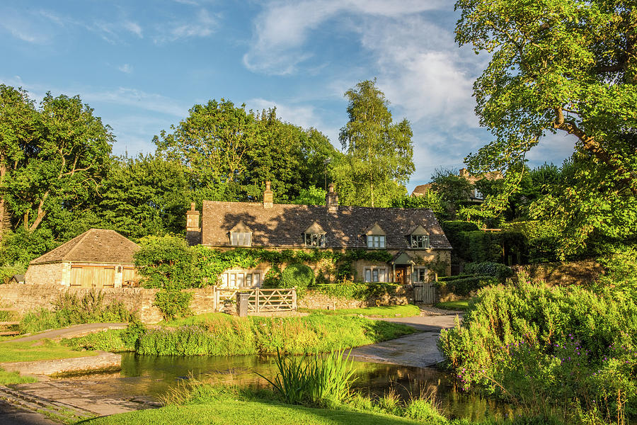 Cotswolds Photograph - Upper Slaughter, Gloucestershire by David Ross