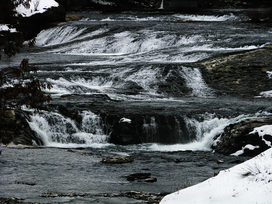 Upper Spokane Falls Photograph
