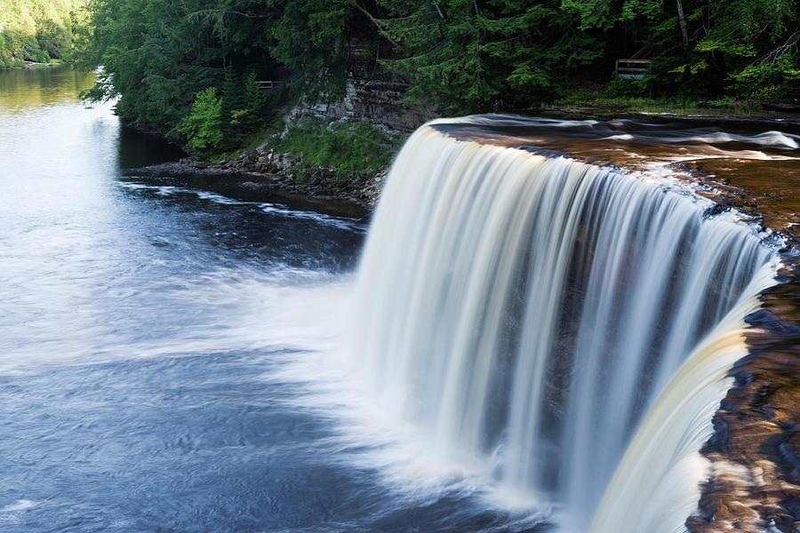 Upper Tahquamenon Falls Michigan Photograph by Pickstock