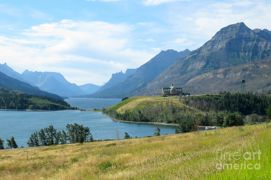 Upper Waterton view by Frank Townsley