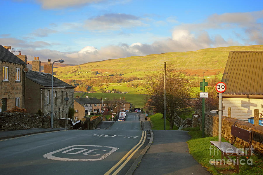 Wensleydale Photograph - Upper Wensleydale From Hawes Yorkshire Dales National Park by Louise Heusinkveld