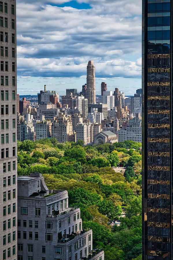 Upper West Side View - Manhattan by Stuart Litoff