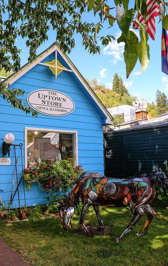 Uptown Store in Minturn Colorado by Ola Allen