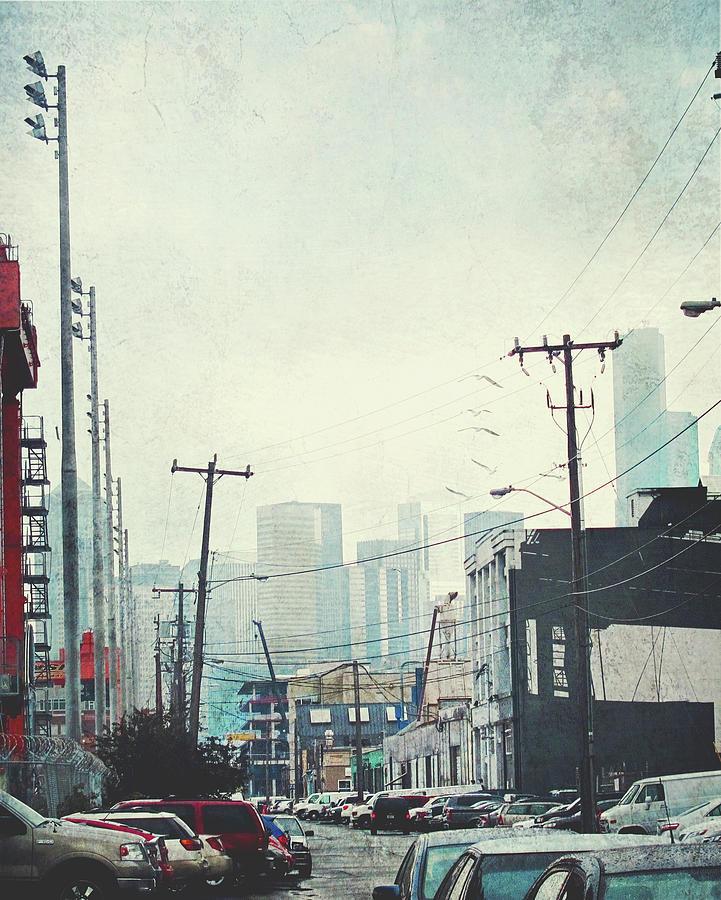 Urban Alley Photograph by Lyne Nagele