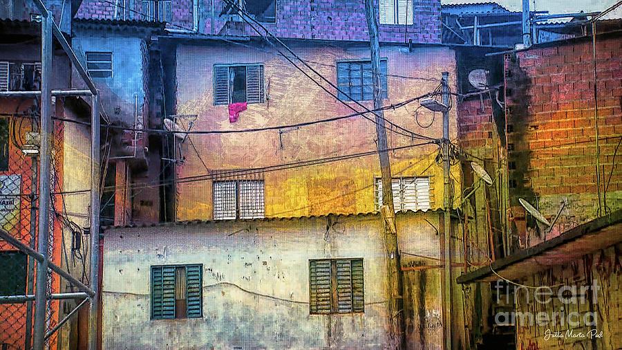 Urban Backyard by Jutta Maria Pusl