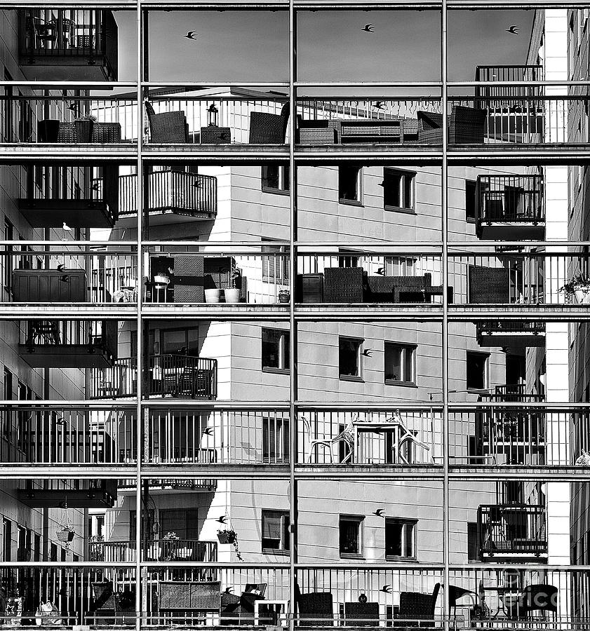 Commercial Photograph - Urban City View, Urban Construction by Renata Apanaviciene