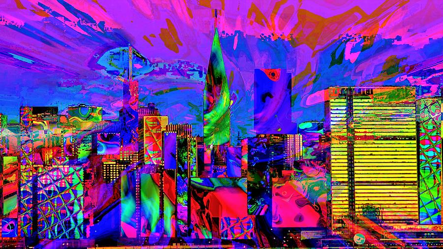 City Painting - Urban Color by ArtMarketJapan