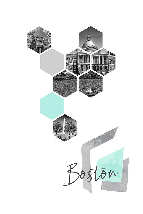 Boston Photograph - Urban Design Boston Cityscapes by Melanie Viola