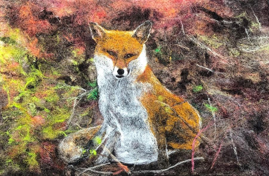 Urban Fox by Ushma Sargeant
