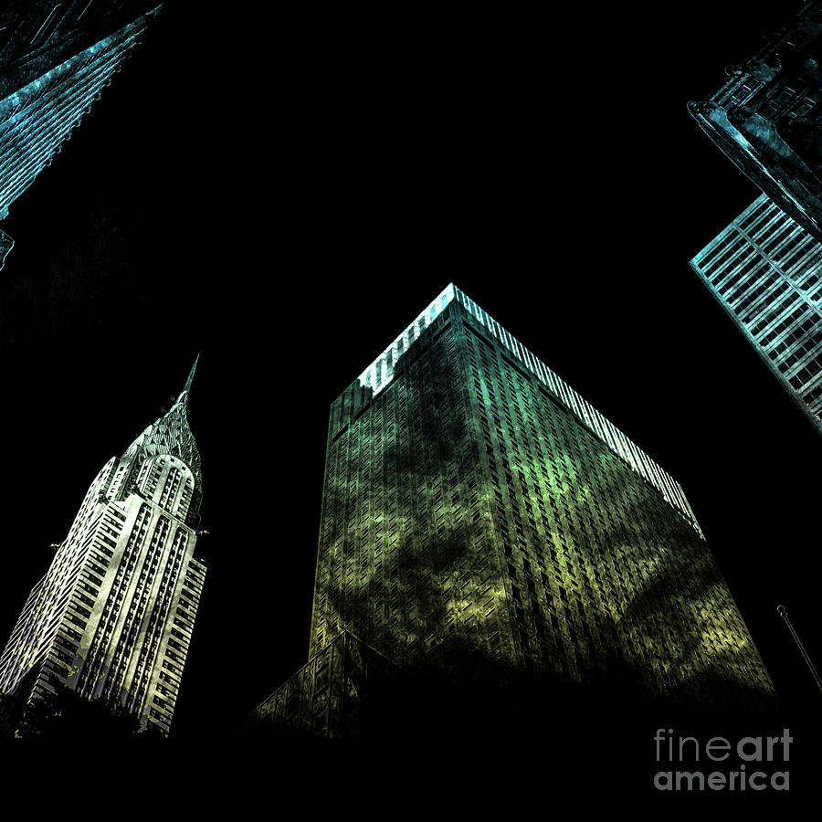 American Digital Art - Urban Grunge Collection Set - 02 by Az Jackson