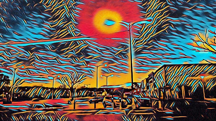 Urban lights by Steven Wills