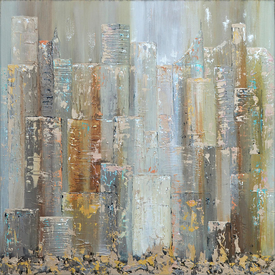 Urban Reflections I Day Version Painting