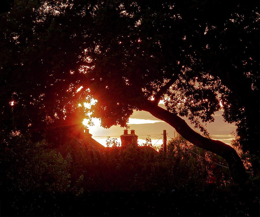 Urban Sunset Silhouette by John Dakin