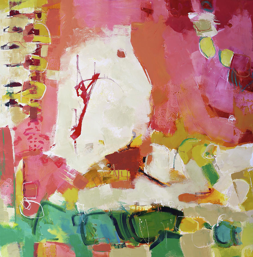 Abstract Painting Painting - Urbane by Elizabeth Chapman